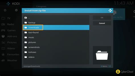how to configure openvpn for openelec 5 7 and libreelec 7 8 on a raspberry pi cyberghost vpn