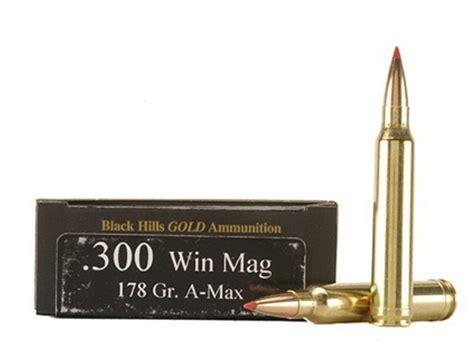 Black Hills Gold Ammo 300 Winchester Mag 178 Grain
