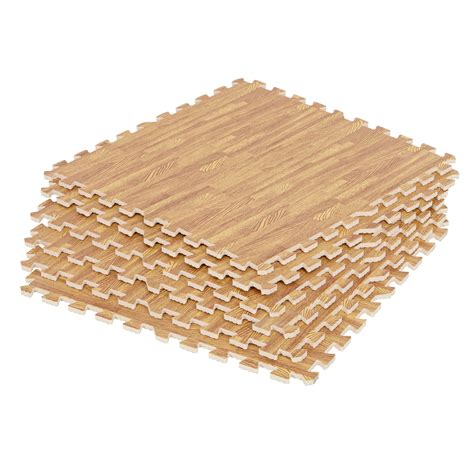 wood effect interlocking floor tiles flooring foam