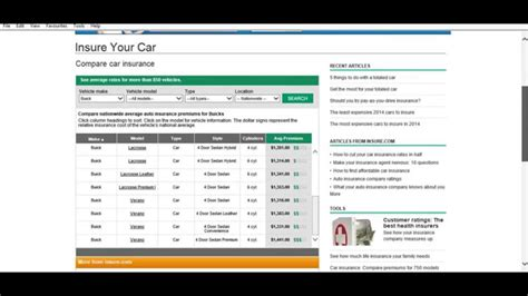 Auto Insurance Calculator by Build Your Own Car Insurance Premium Calculator And Buy