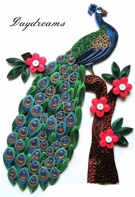 468 best PEACOCK quilled images on Pinterest