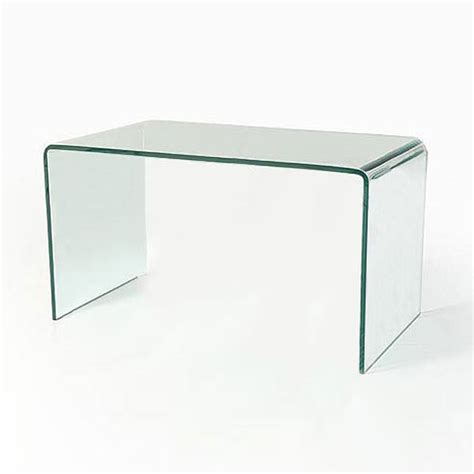bent glass end table curved bent glass coffee table ct039 in stock abode