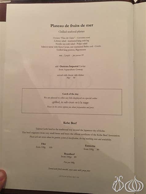 cuisine a la mode grill royal berlin a restaurant a la mode