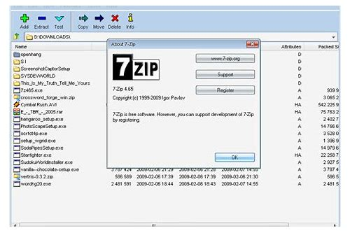 7 zip for windows 8 free download