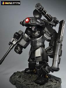 War Machine Battle Armor (Marvel Legends) Custom Action ...