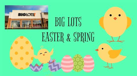 Big Lots  Easter & Spring Decor  Youtube