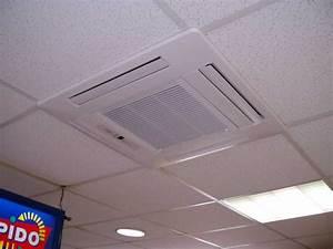 Climatisation Encastrable Plafond : la climatisation cassette climatisation le grau du roi ~ Premium-room.com Idées de Décoration