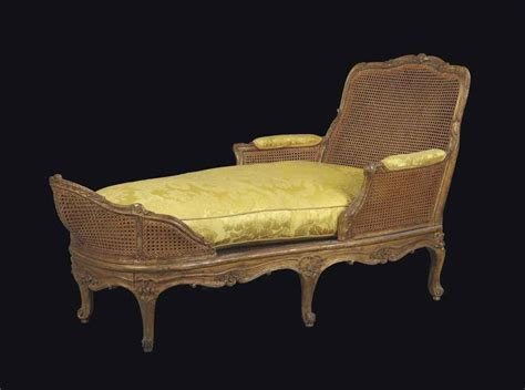 chaise longue d int rieur chaise longue d 39 epoque louis xv estampille de michel