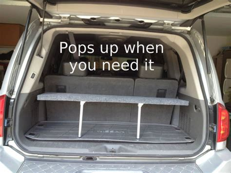 diy pop  trunk shelf  prepared page