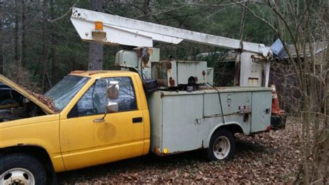 old car repair manuals 1995 gmc 3500 club coupe engine control 1991 gmc sierra 3500 bucket truck with utility body for sale gmc sierra 3500 1991 for sale in