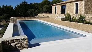Piscine A Débordement : cr ation d 39 une piscine d bordement en b ton arm avec ~ Farleysfitness.com Idées de Décoration