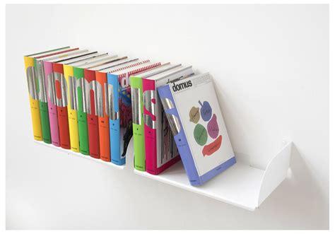 mensole per libri mensole per libri quot ubd quot set di 2 45 cm acciao