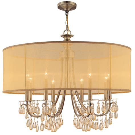 chandelier lighting crystorama hton 8 light chandelier reviews wayfair