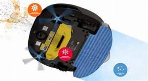 Robot Laveur De Sol : robot aspirateur laveur e zicom sweepy ~ Nature-et-papiers.com Idées de Décoration