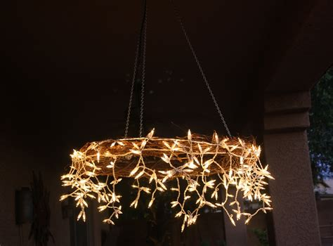The Project Table: DIY Icicle Chandelier