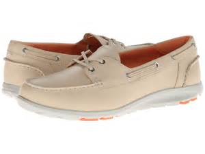 rockport twz ii boat shoe bleached sand shoes shipped