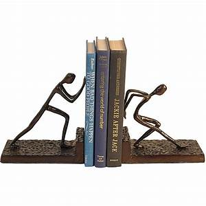 Men, Pushing, Bookend, Set, -, Free, Shipping, Today, -, Overstock, Com
