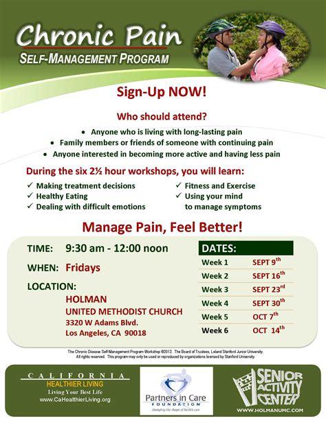 chronic pain  management program holman united