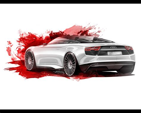 Audi E Tron Spyder Concept 2018