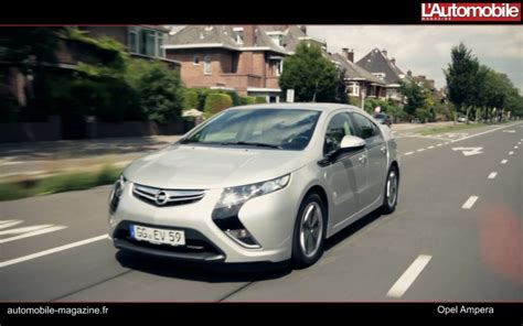 Essai Vidéo Opel Ampera