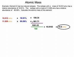 Abundance Of Isotopes Chem Worksheet 4 3 Abundance Of Isotopes Chem
