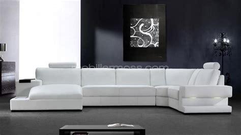 canapes cuir blanc photos canapé angle cuir blanc