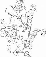 Coloring Flower Printable sketch template