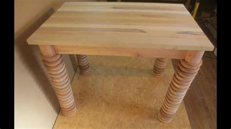hagalo usted mismo mesa de madera reciclando sobras