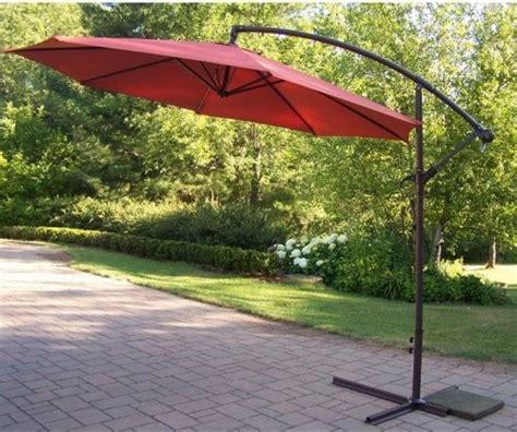 oakland living 10 ft cantilever umbrella contemporary