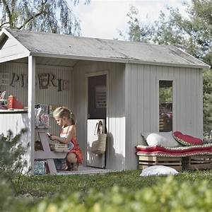 Maison De Jardin En Bois Enfant : maisonnette chalet maison cabane enfant au meilleur prix leroy merlin ~ Dode.kayakingforconservation.com Idées de Décoration