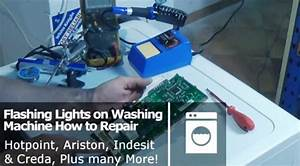 Washing Machine All The Lights Flashing  Error Codes On