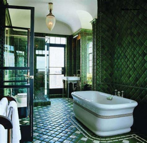 green bathroom 36 art deco green bathroom tiles ideas and pictures