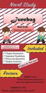 U0026quot Junebug U0026quot  Novel Study Resource Guide