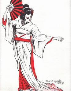 Geisha II by Kyowell on DeviantArt