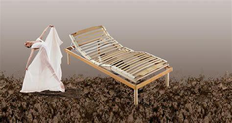 showroom materasso rete in legno motorizzata alzata testa piedi con