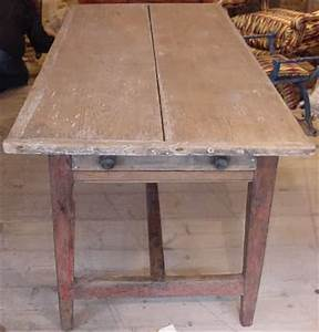 Antique Farmhouse Table - Antique Sold Items