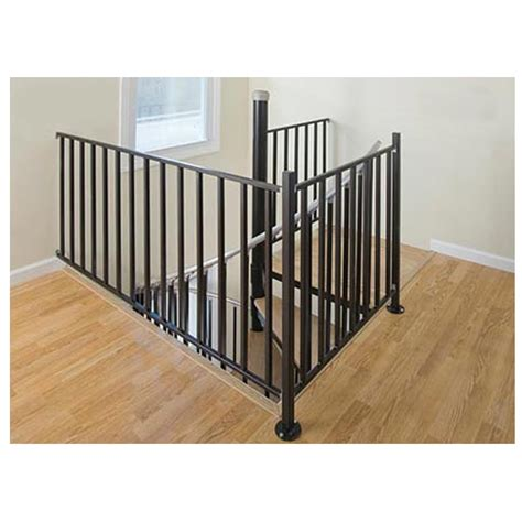 lowes banisters and railings shop the iron shop houston 3 ft white painted wrought iron