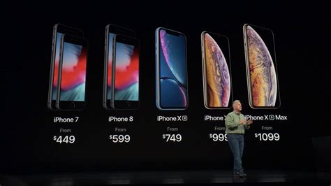 iphone xs xs max and xr prices revealed