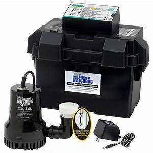 Basement Watchdog 0 33 Hp Special   Battery Backup Sump
