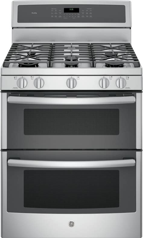 pgbzejss ge profile  freestanding double oven gas