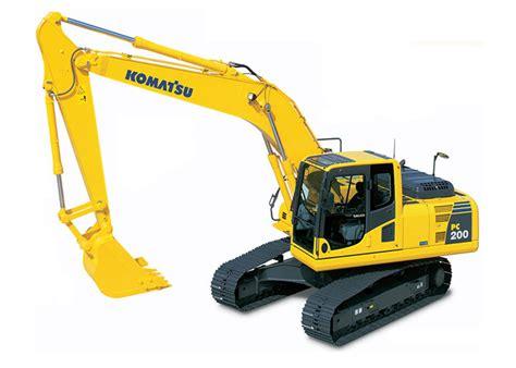 komatsu pc  lc excavator rental rates