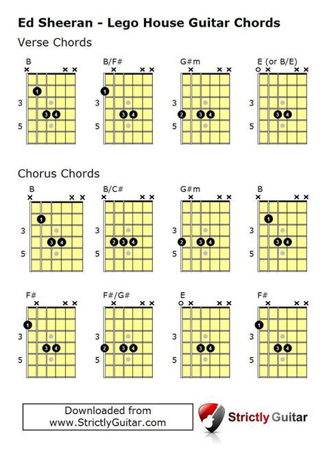 Lego house guitar chord