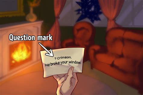 riddles holmes sherlock bright test crimson mark said question note which