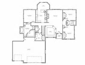 three bedroom house plans split bedroom ranch hosue plan 3 bedroom ranch house plan with basement the house plan site