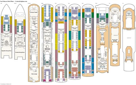freedom of the seas cruise ship deck plan pictures to pin