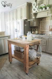 diy kitchen island ideas and tips - How To Build A Portable Kitchen Island