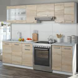 Küchenzeile Landhausstil Günstig : k chenzeile raul 240 cm sonoma eiche ~ Bigdaddyawards.com Haus und Dekorationen