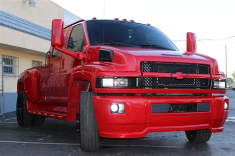 gbeexf custom red chevy kodiak  xxx