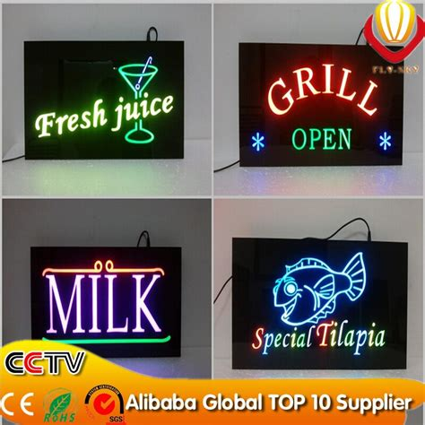 diy light sign board new products for bar open led sign diy led sign buy