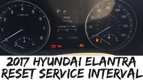 2008 Hyundai Elantra Check Engine Light Reset
